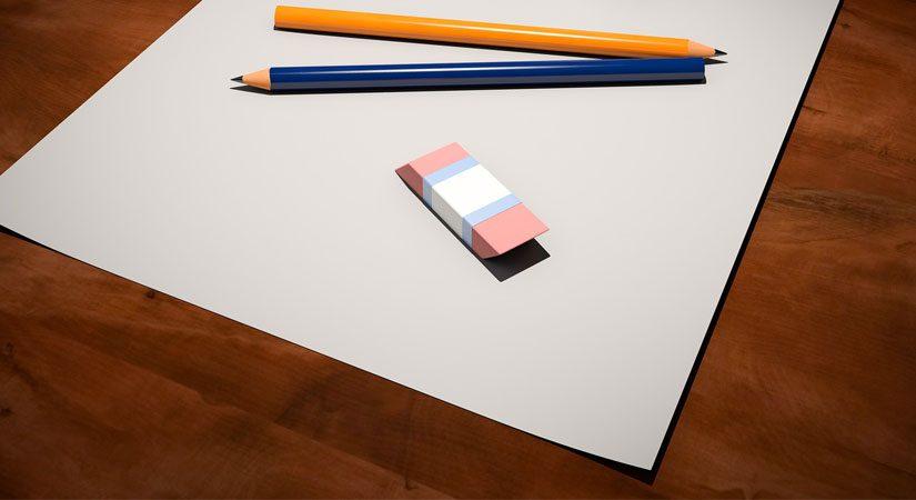 كمصمم: هل تبدأ تصميمك من صفحة بيضاء؟